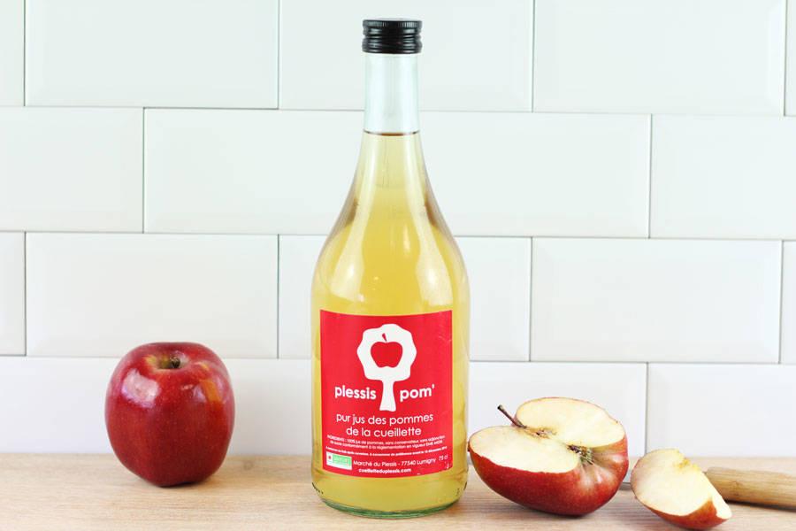 Jus de pomme - Cueillette du Plessis - La Ruche qui dit Oui ! à la maison