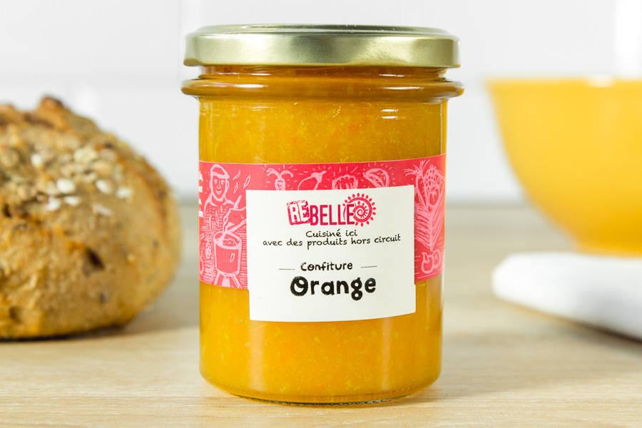 Confiture Orange - Re-Belle - La Ruche qui dit Oui ! à la maison