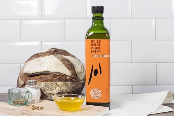 Huile d'olive picholine - Le rocher des fées