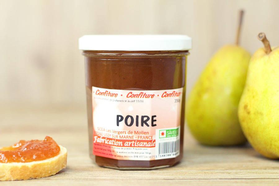 Confiture de poire - Vergers de Molien - La Ruche qui dit Oui ! à la maison