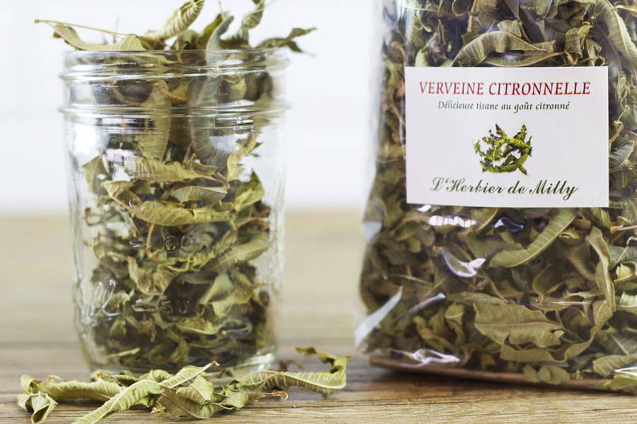 Tisane verveine citronnelle - L'Herbier de Milly - La Ruche qui dit Oui ! à la maison