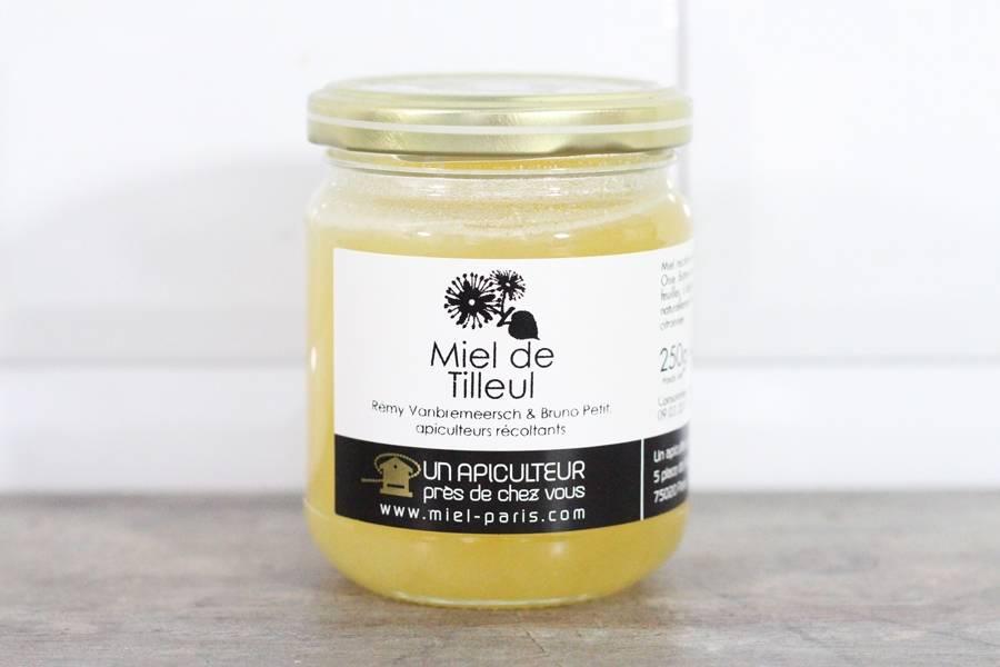 Miel de Tilleul 250g - Un apiculteur près de chez vous - La Ruche qui dit Oui ! à la maison