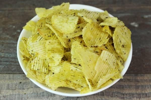 Chips aux herbes - Le Jardin de Guillaume