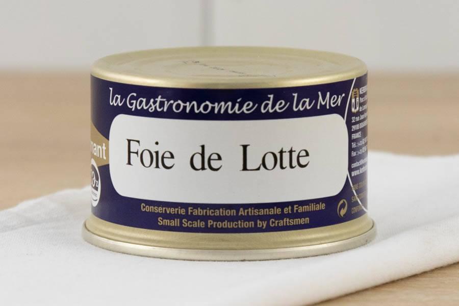 Foie de lotte au naturel - Conserverie artisanale Kerbriant - La Ruche qui dit Oui ! à la maison