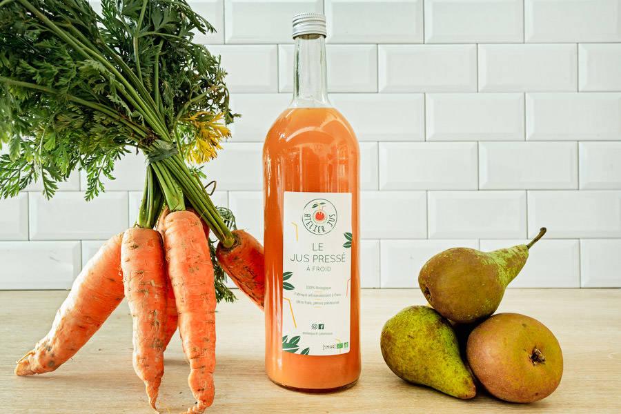 Jus de printemps Orange 1L BIO - Atelier Jus - La Ruche qui dit Oui ! à la maison