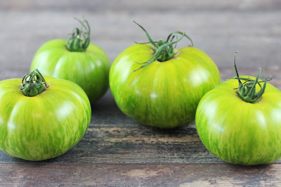 Tomate ancienne tigrée verte - Les Saveurs de Chailly - La Ruche qui dit Oui ! à la maison
