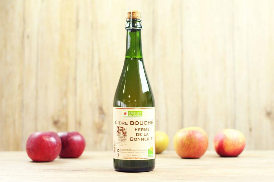 Cidre bouché de la Bonnerie - Ferme de la Bonnerie - La Ruche qui dit Oui ! à la maison