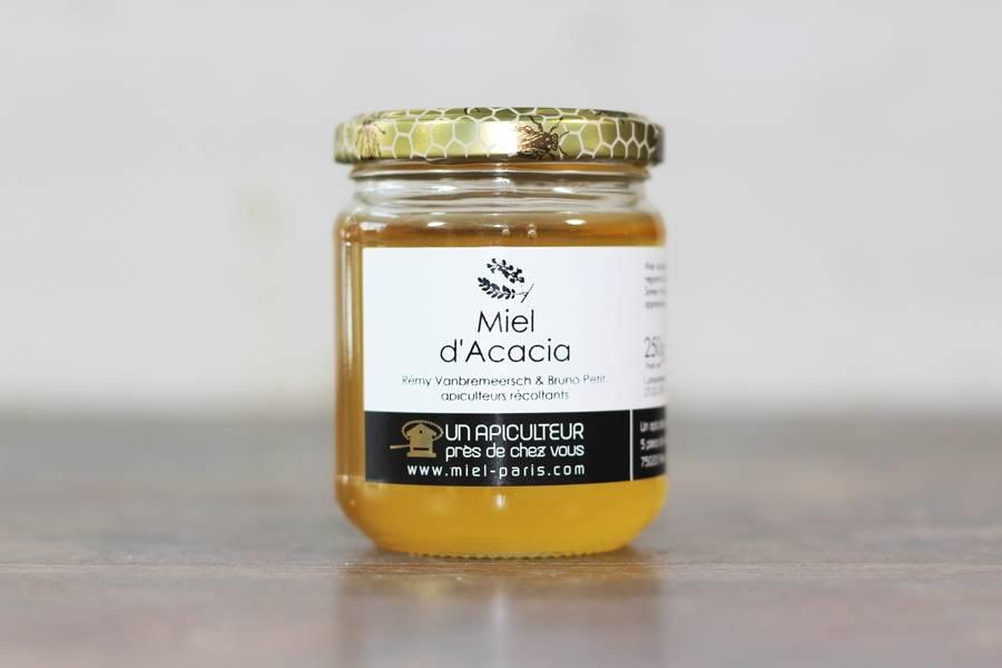 Miel d'Acacia 250g - Un apiculteur près de chez vous - La Ruche qui dit Oui ! à la maison