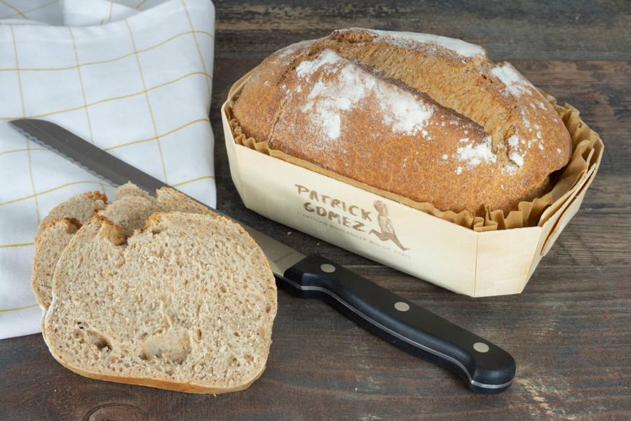 Pain complet BIO - Patrick Gomez, l'artisan boulanger BIO de Paris - La Ruche qui dit Oui ! à la maison