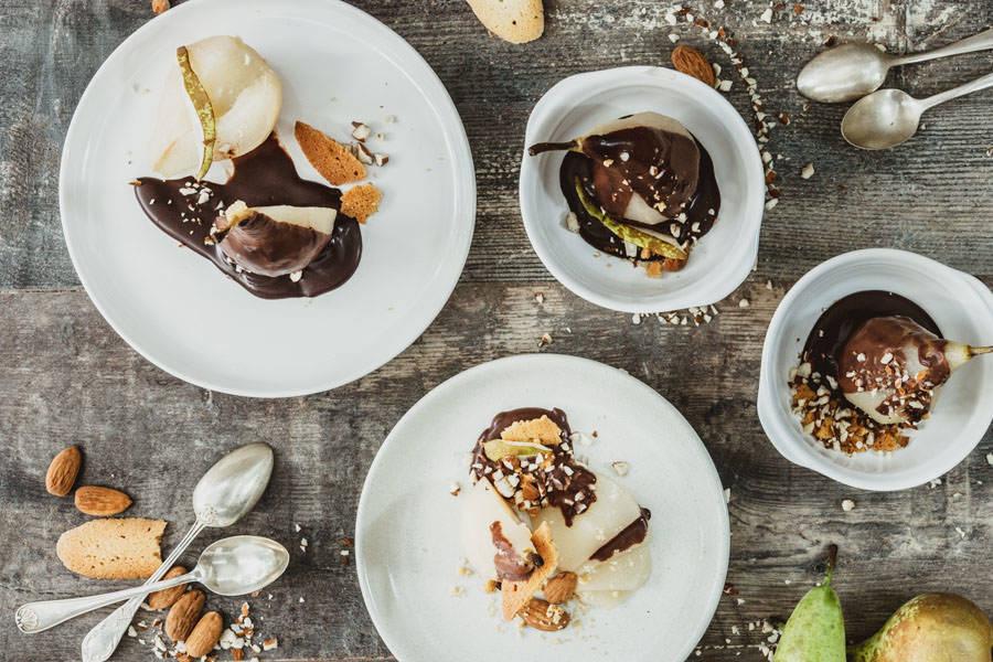 Kit poires Belle Hélène archi-chocolatées - La Ruche Mama - La Ruche qui dit Oui ! à la maison