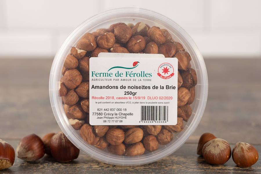 Amandons de noisettes de la Brie - Ferme de Férolles - La Ruche qui dit Oui ! à la maison