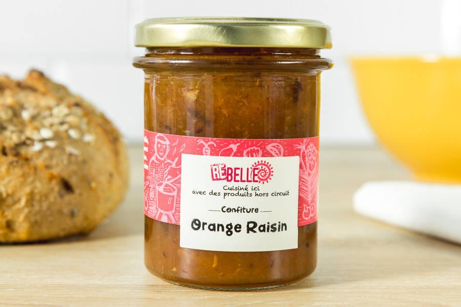Confiture Orange Raisin - Re-Belle - La Ruche qui dit Oui ! à la maison