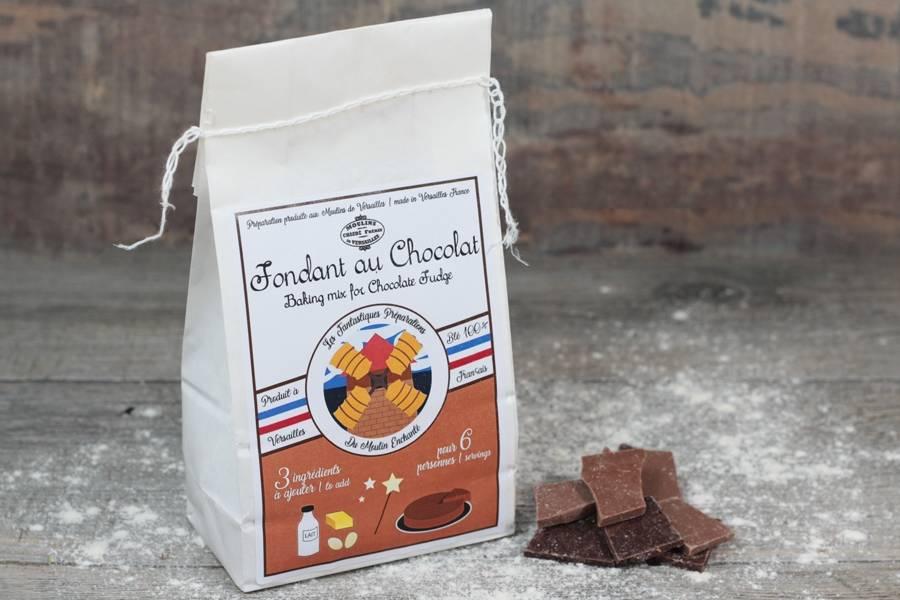Préparation pour fondant au chocolat - Les Moulins de Versailles - La Ruche qui dit Oui ! à la maison