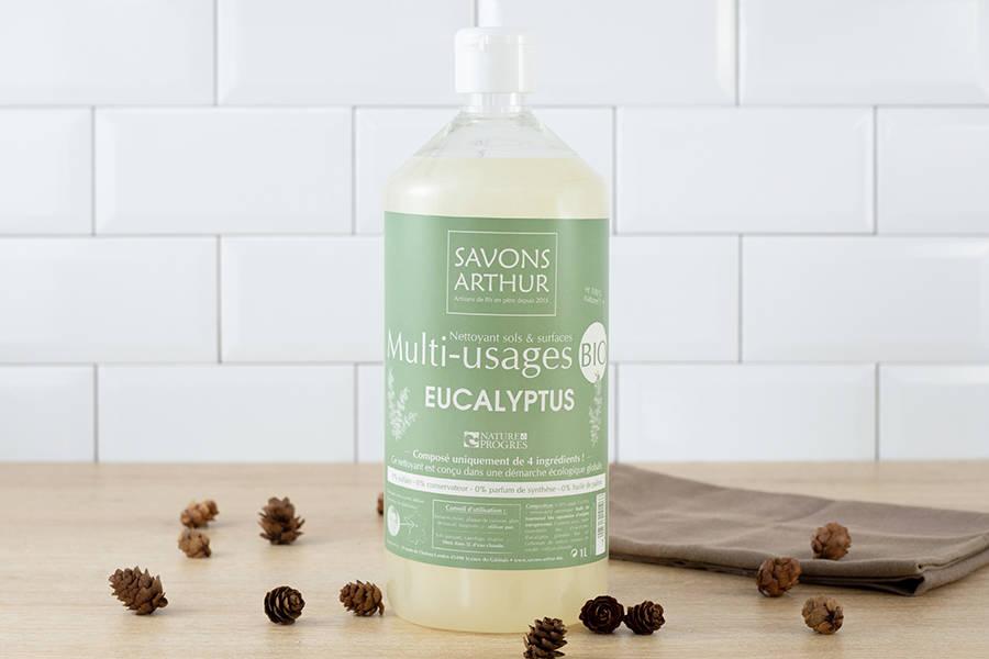 Nettoyant multi-usages à l'eucalyptus 1L - Savons Arthur - La Ruche qui dit Oui ! à la maison