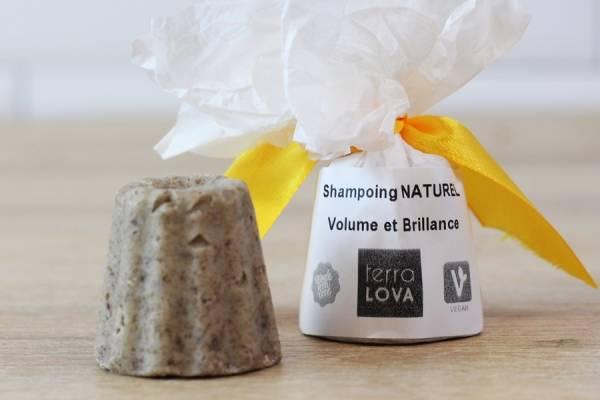 Shampoing savon Rhassoul citron orange - Mini - Terra Lova