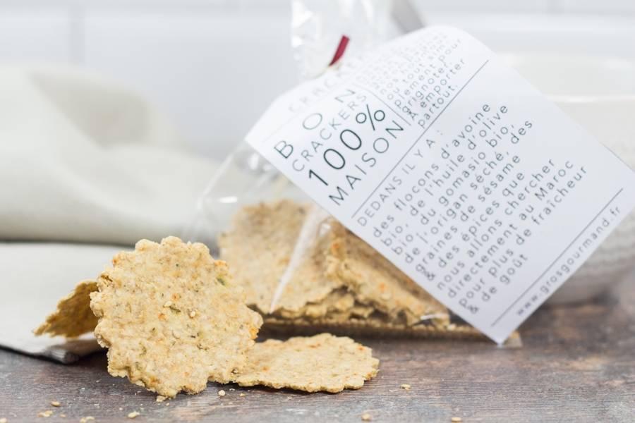 Crackers  - Gros Gourmand - La Ruche qui dit Oui ! à la maison
