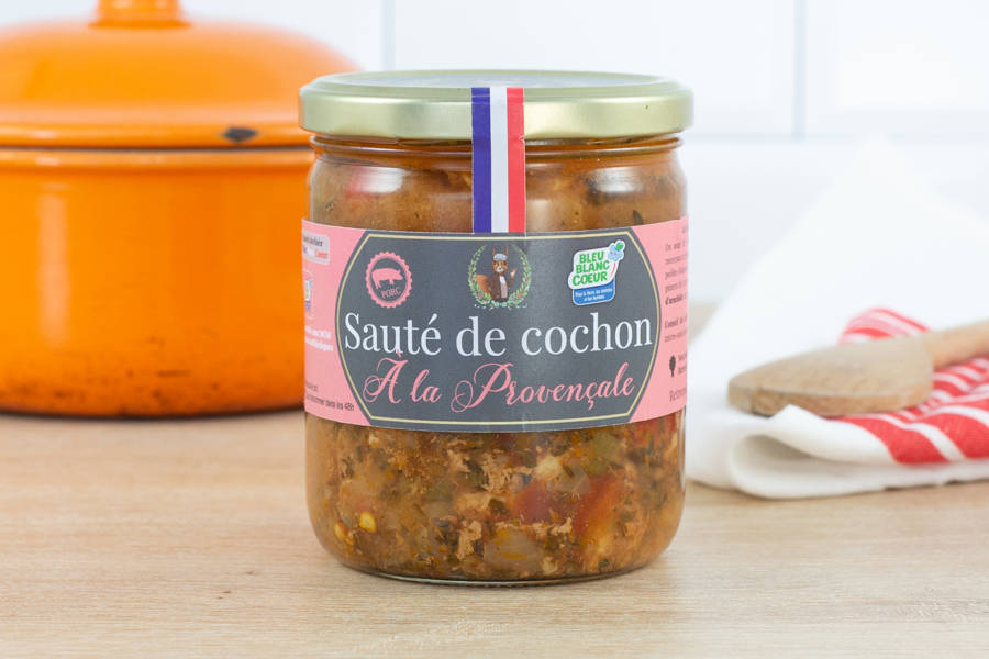 Sauté de cochon à la provençale - Ferme les Barres - La Ruche qui dit Oui ! à la maison