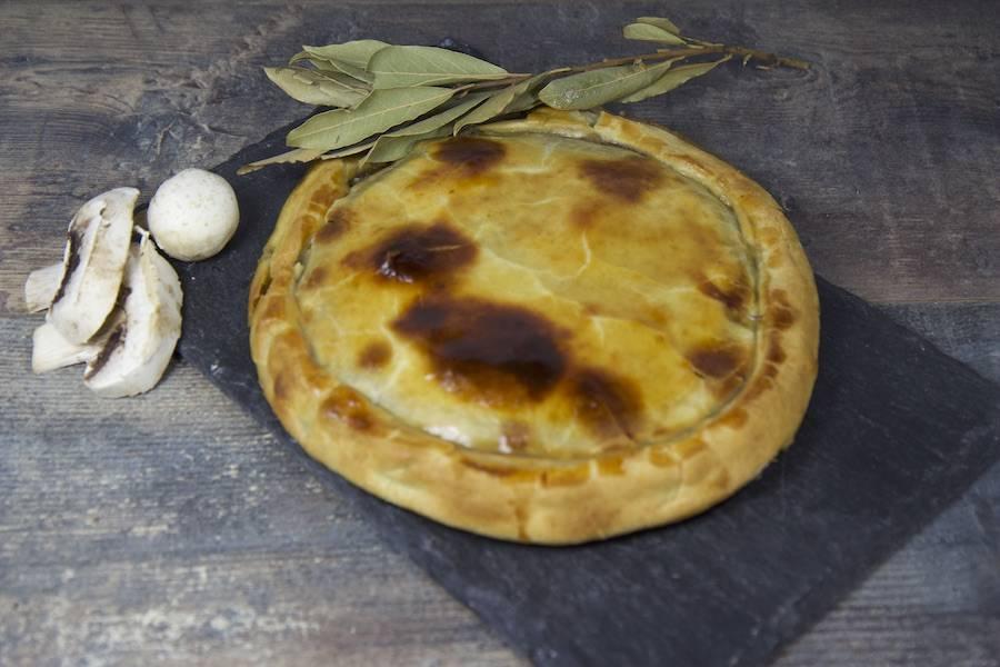 Tourte champignons pommes de terre - Entre Saveur et Jardin - La Ruche qui dit Oui ! à la maison