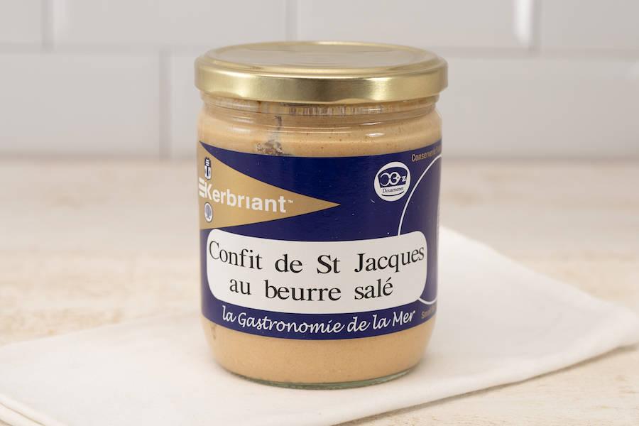 Confits de Saint Jacques au beurre salé - Conserverie artisanale Kerbriant - La Ruche qui dit Oui ! à la maison
