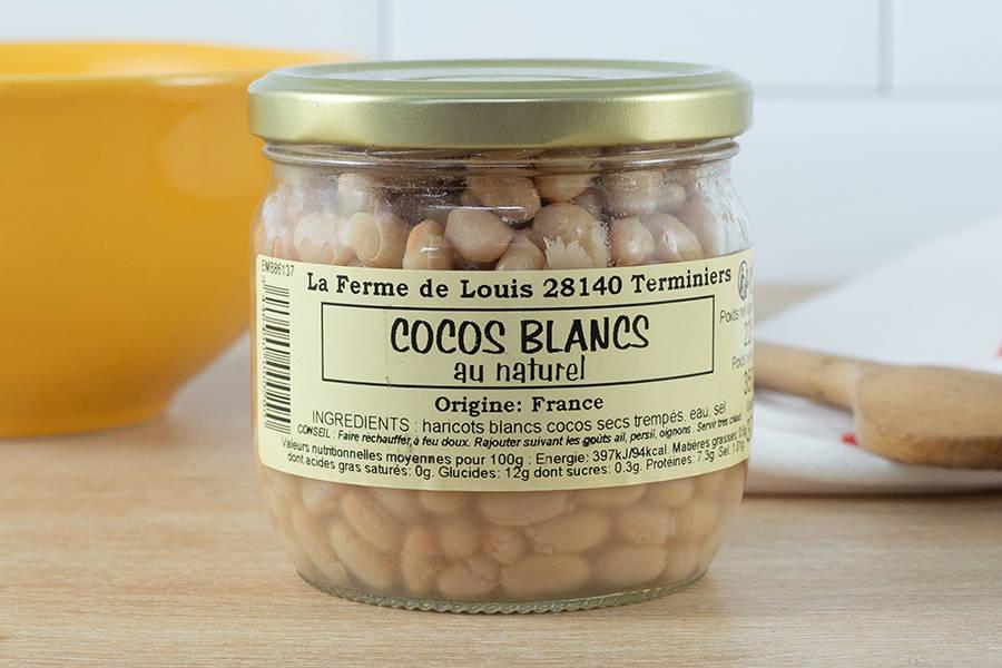 Bocal de cocos blancs - Ferme de Louis - La Ruche qui dit Oui ! à la maison
