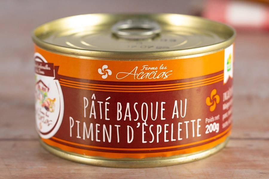 Pâté Basque au Piment d'Espelette - EARL les Acacias - La Ruche qui dit Oui ! à la maison