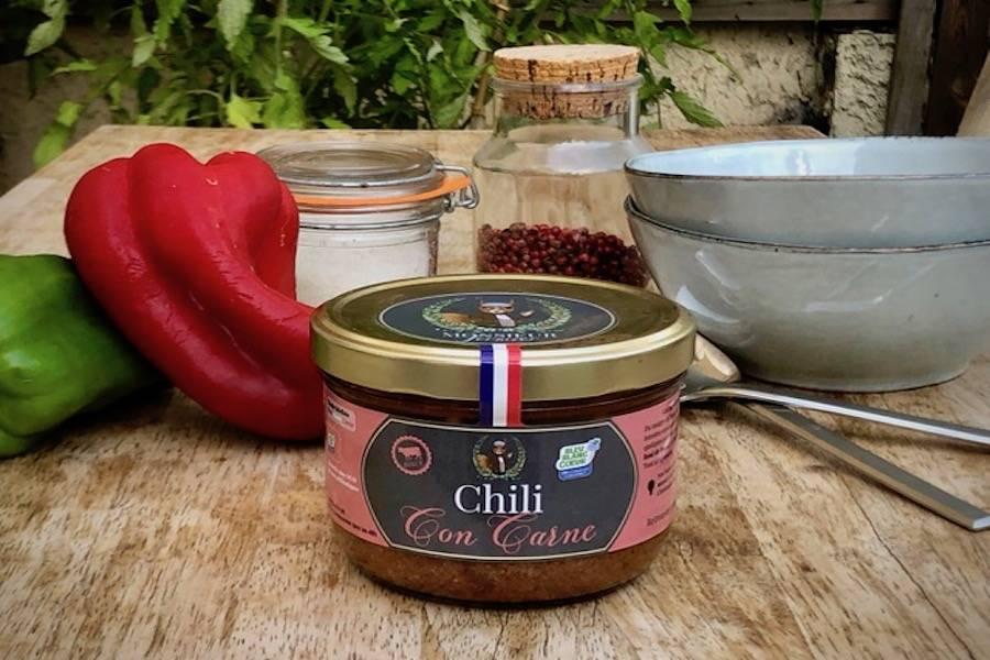 Chili con carne - Ferme les Barres - La Ruche qui dit Oui ! à la maison